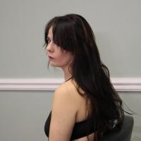 Glenna gets a haircut